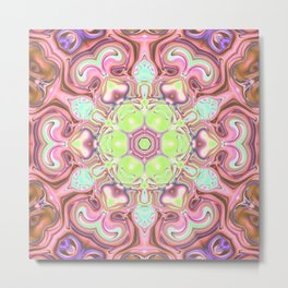 Star Flower of Symmetry 704 Metal Print