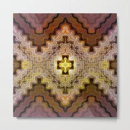 Dreams of Painted Wood, too Metal Print