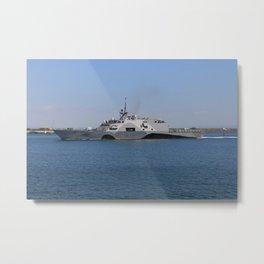 Ship32 Metal Print