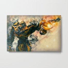 Bumblebee, Transformers Poster Art Metal Print