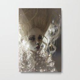 Art doll portrait Metal Print