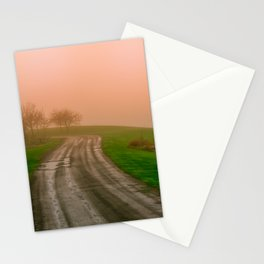 She Was in Love With Her Rose Colored Glasses Stationery Cards