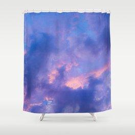 Dusk Clouds Shower Curtain