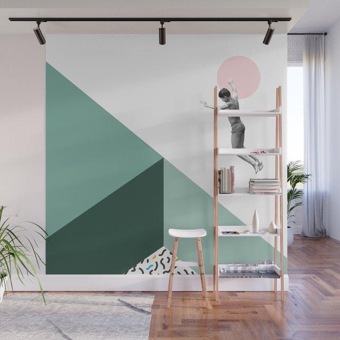 Minimal. Modern. Concept Art. Wall Mural