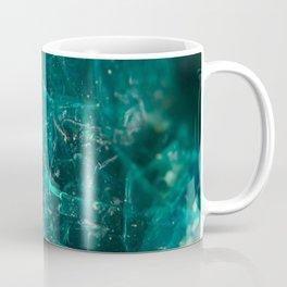 Cracked Teal Sugar Coffee Mug