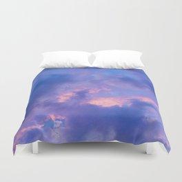 Dusk Clouds Duvet Cover