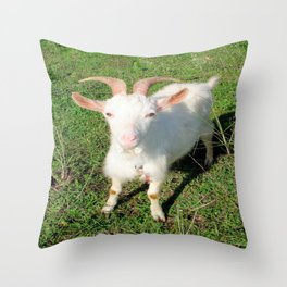 Billy 'The Goat' Throw Pillow