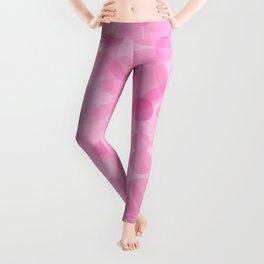 Pink Bubbles 1 Leggings