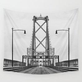 MacDonald Bridge Symmetry Wall Tapestry