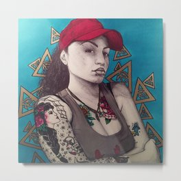 Tatted up Metal Print