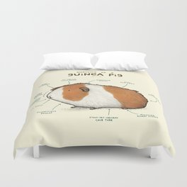 Anatomy of a Guinea Pig Duvet Cover