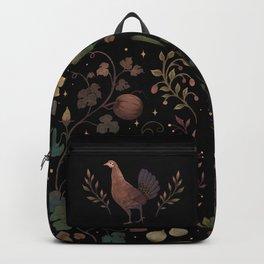 Wild Chicken with Autumn Vines Backpack