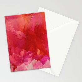 Pink Blooms Stationery Cards