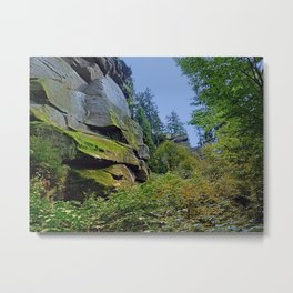 Mountain, granite rocks and pure nature | landscape photography Metal Print