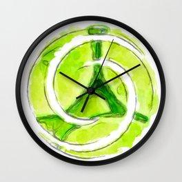 A twist of lime (lite) Wall Clock