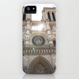 Notre-Dame ... Our Lady of Paris iPhone Case