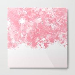 paint splatter on gradient pattern bbpw Metal Print