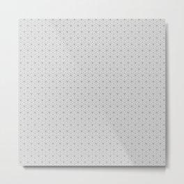 Sacred Triangular Flowers   High Definition Sacred Geometry Patterns Metal Print
