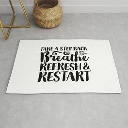 Breathe, Refresh & Restart Rug