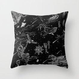 Dream Realm Throw Pillow