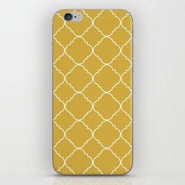 Yellow Moroccan iPhone Skin