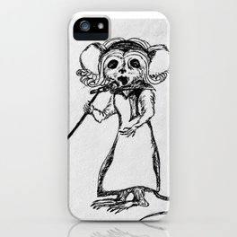 Singing Mouse iPhone Case