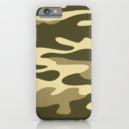 Military camouflage iPhone Case