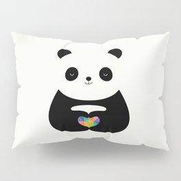 Panda Love Pillow Sham