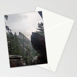 Flat Iron 1 During Rainstorm Stationery Cards