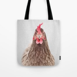 Chicken - Colorful Tote Bag