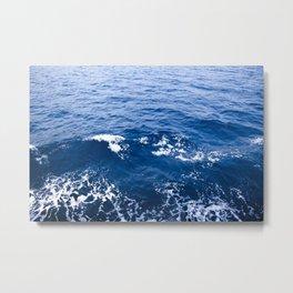 Waves adriatic Metal Print