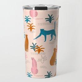 Rainbow cheetahs Travel Mug