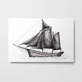 Sail away! Metal Print