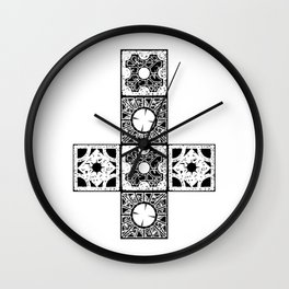 Lament BW Wall Clock