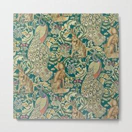 The Forest  William Morris Metal Print