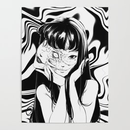Junji Ito - Tomie Poster