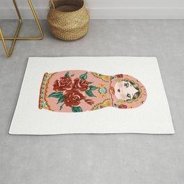 Intuition: Pink Matryoshka Doll Rug