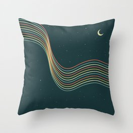 Vintage Sky Throw Pillow