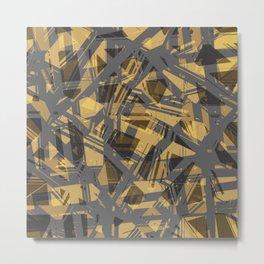 abstract print Metal Print