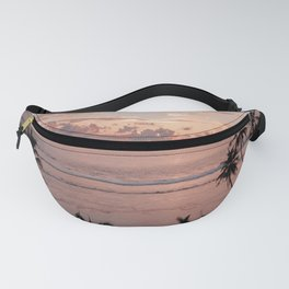 Sunset on the beach Fanny Pack