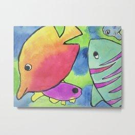 Caribbean Fish Metal Print