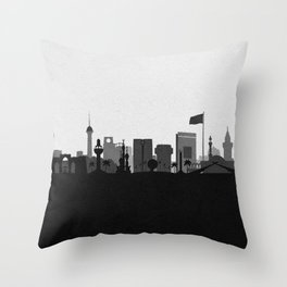 City Skylines: Jeddah Throw Pillow