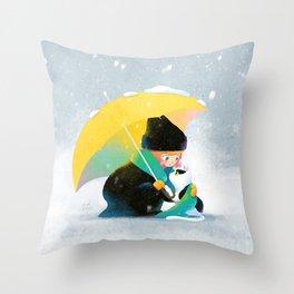 Sharing Love Throw Pillow