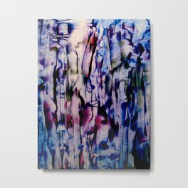 Blue Forest Metal Print