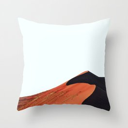 Undulating Slowly III Throw Pillow