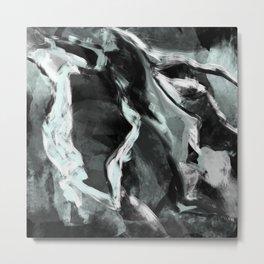 Darkened Quartz  Metal Print