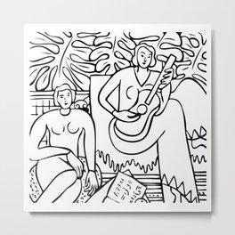 La Musique, 1939, Henri Matisse, Posters, Prints, Tshirts, Bags, Men, Women, Kids Metal Print