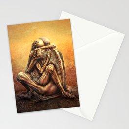 Beksinski love Stationery Cards