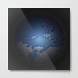 blue sky - born Metal Print