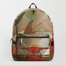 Asian ornament Backpack